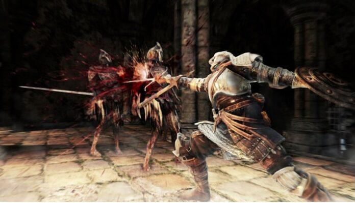 Walka w Dark Souls II